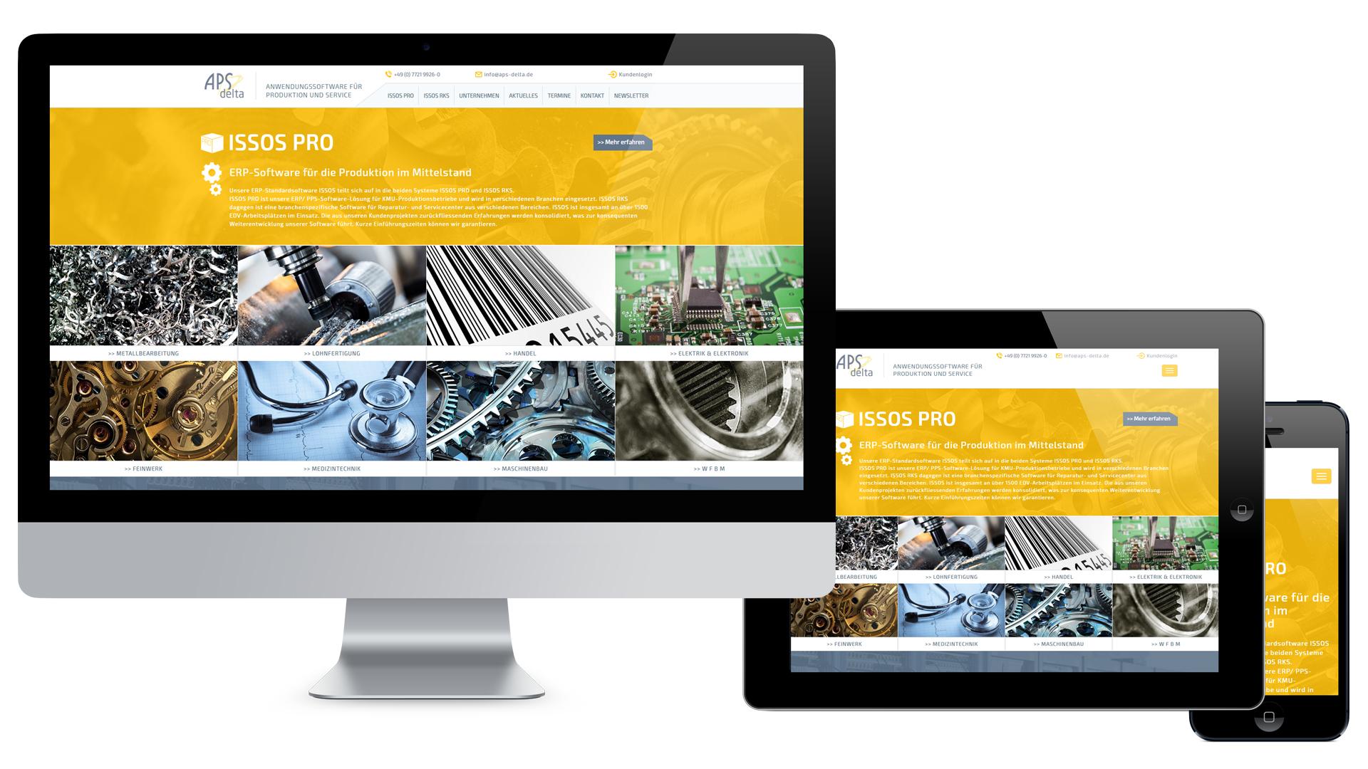 APS delta GmbH Web