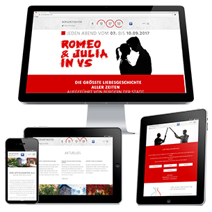 "Bürgertheater ""Romeo & Julia in VS"" Web"