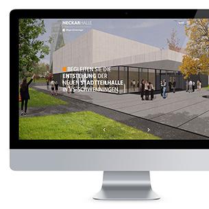 Neckarhalle Webseite