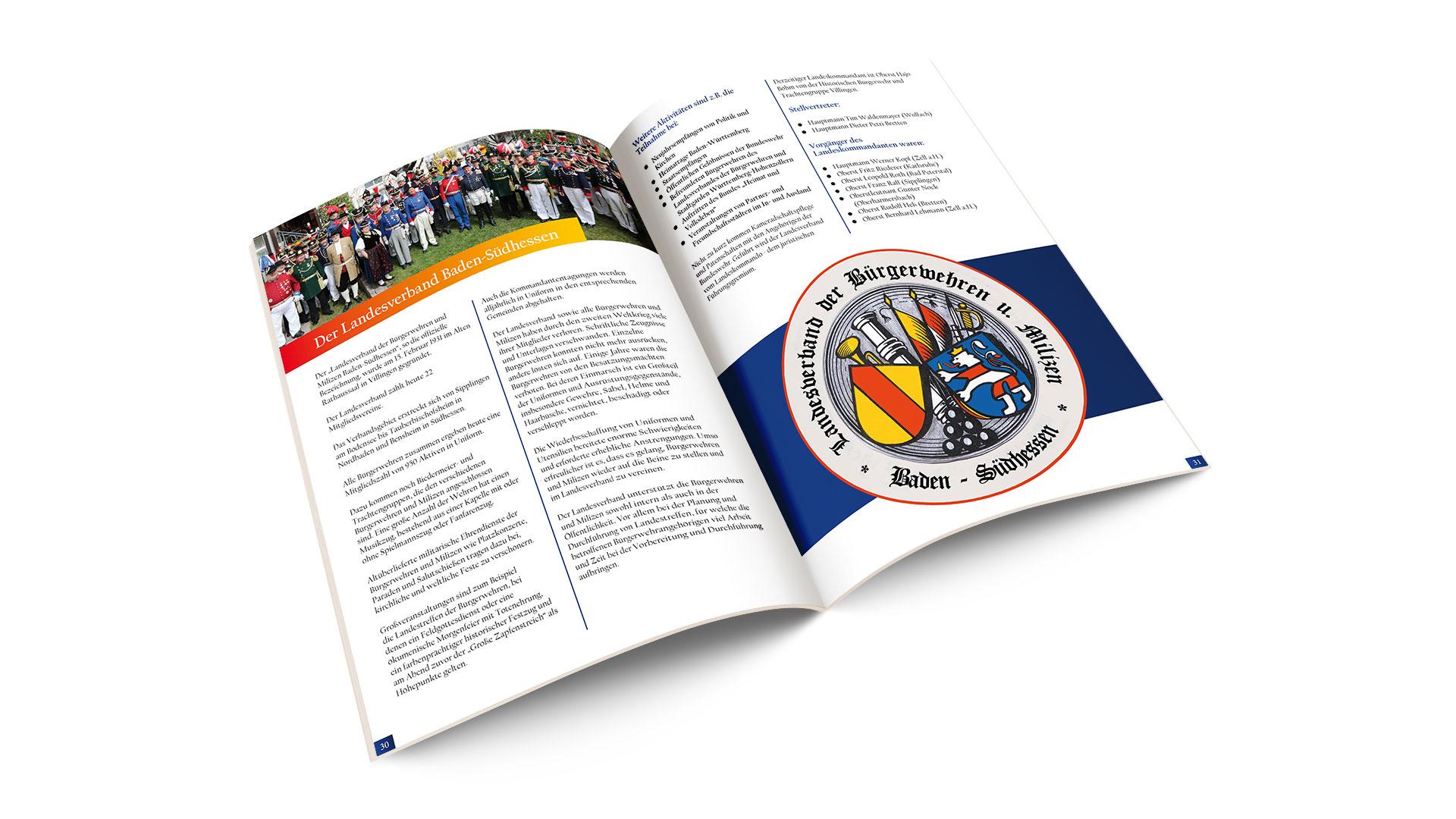 Festschrift zum Landestreffen der Bürgerwehren