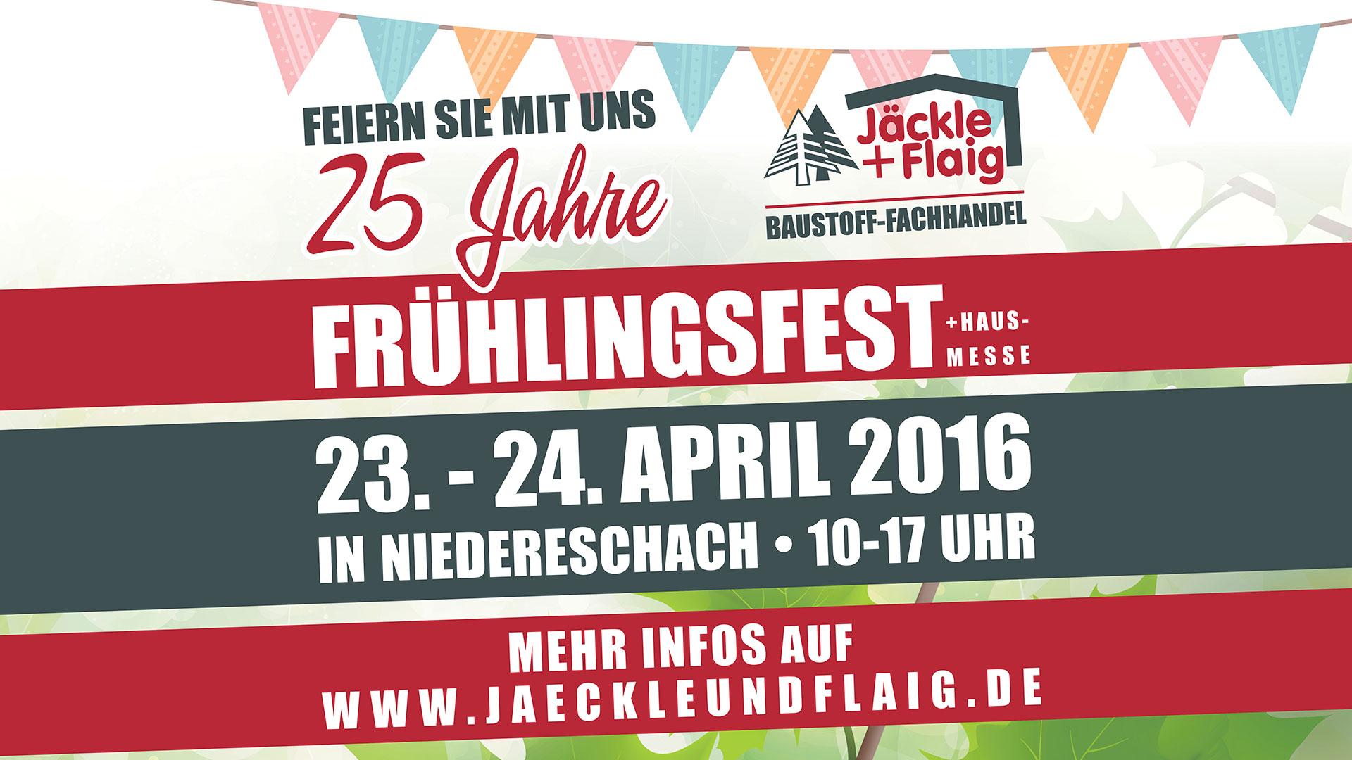 Jäckle+Flaig – Frühlingsfest 2016