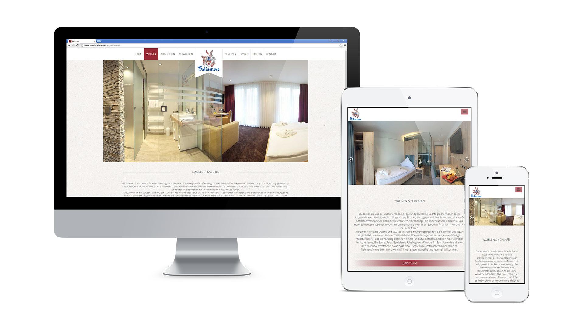 Hotel & Restaurant am Salinensee Web
