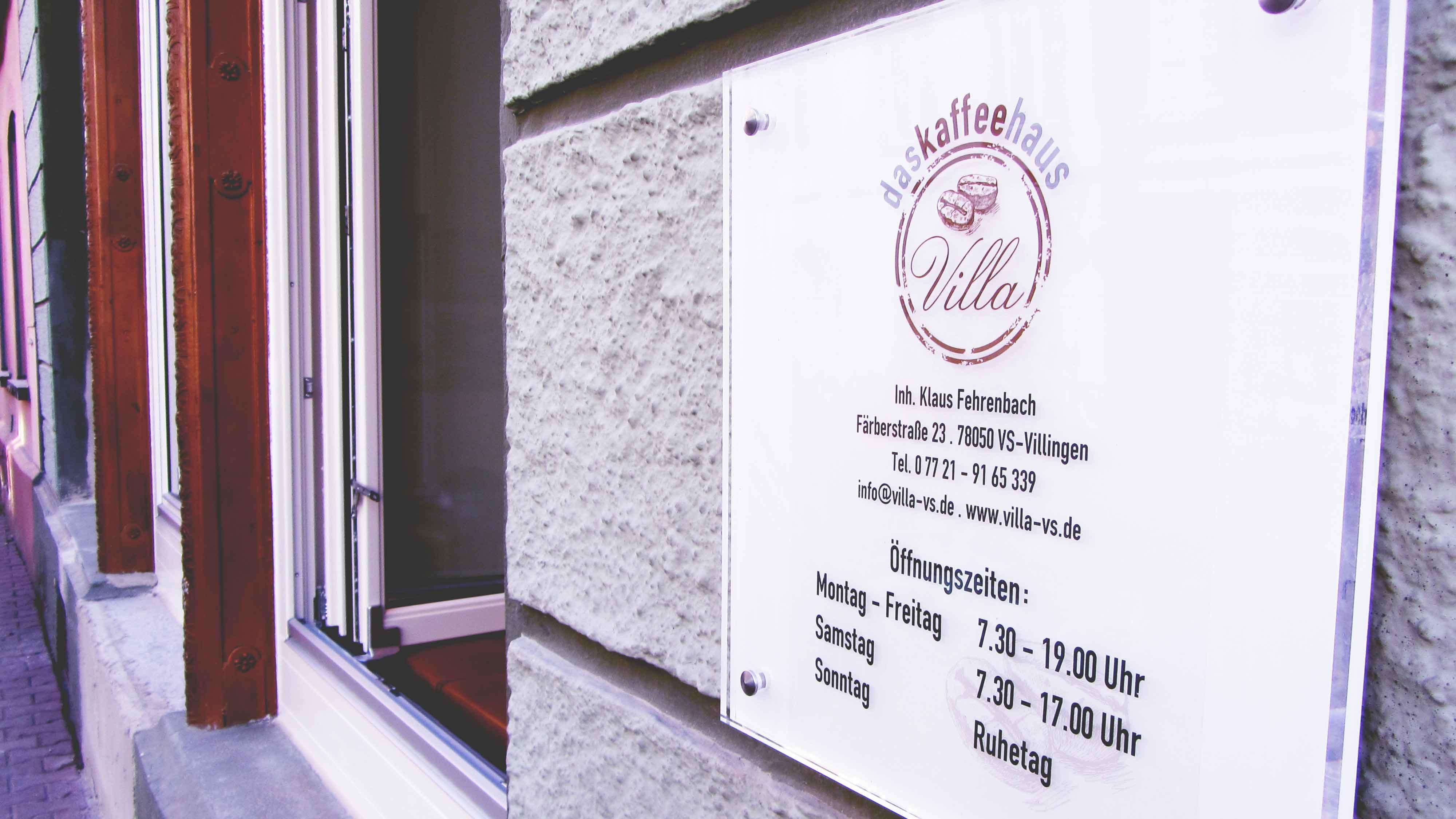 Das Kaffeehaus Villa