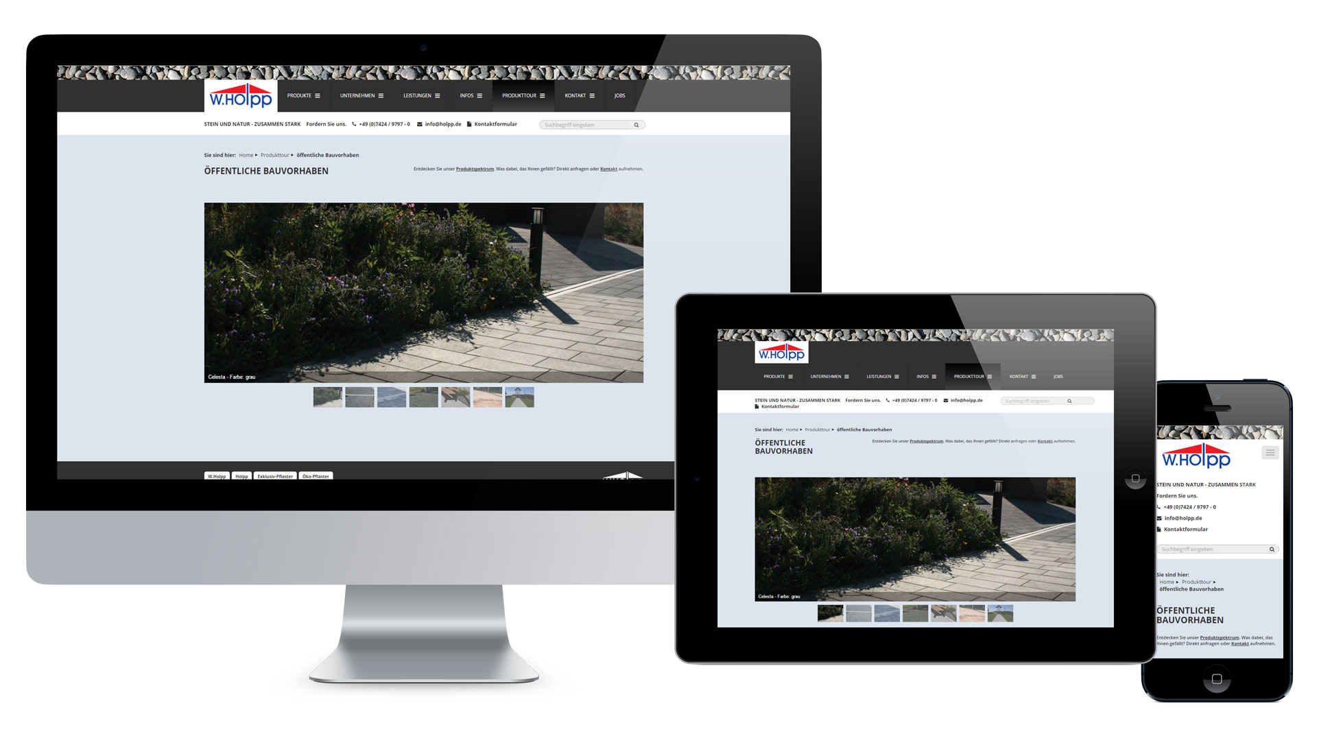 W. Holpp Betonwaren GmbH & Co. KG Web