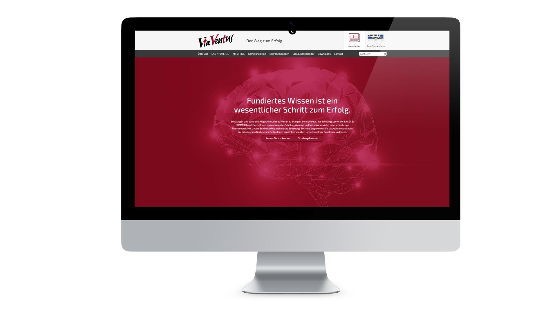 ViaVentus Schulungscenter Web