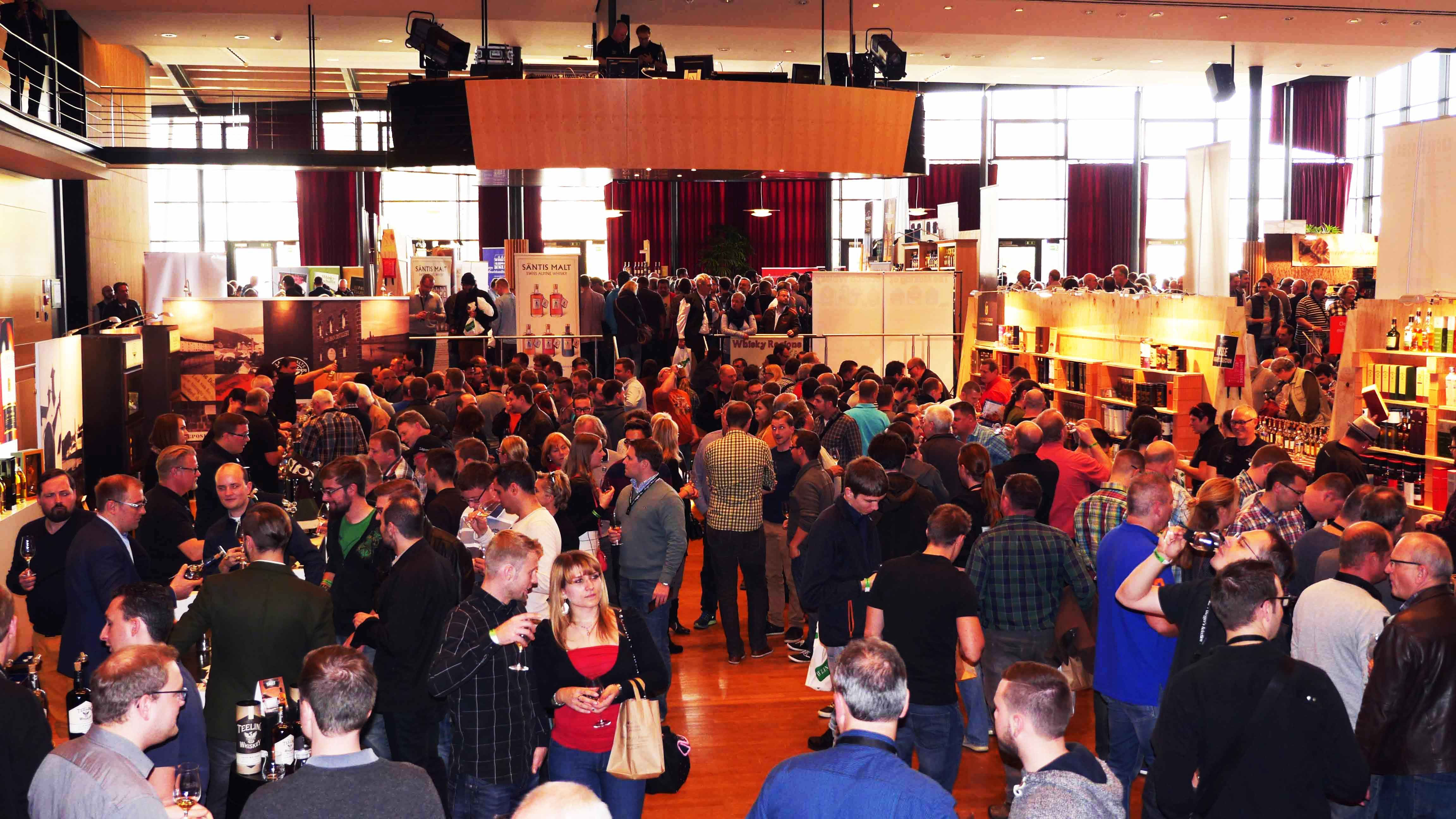 Whisky Messe Hall of angels´ share 2015