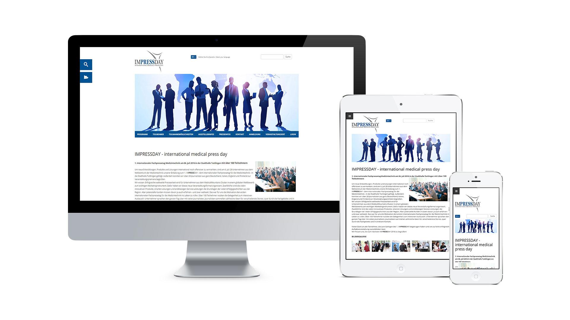Medical Mountains AG – IMPRESSDAY Web