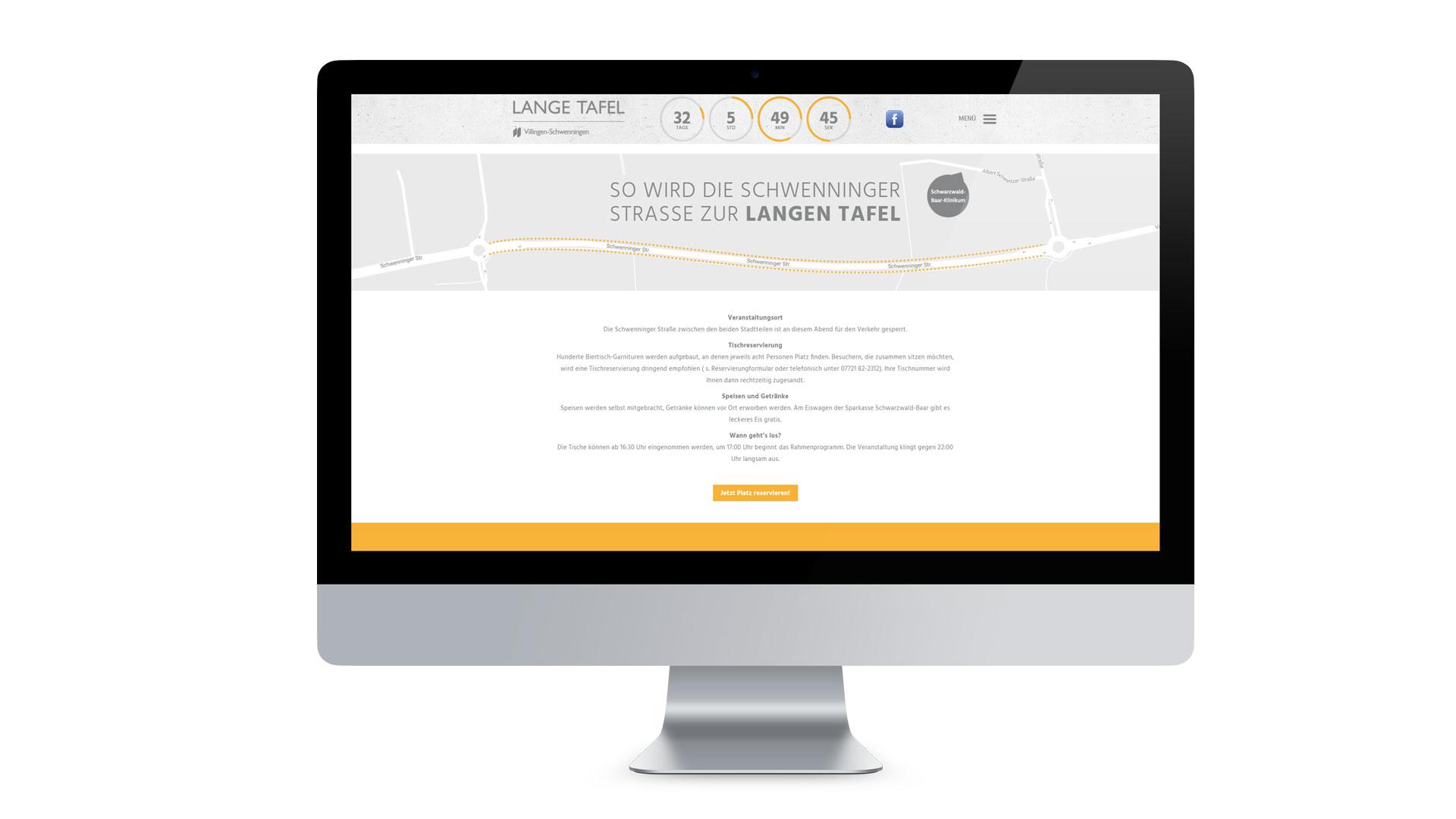 Lange Tafel VS Web