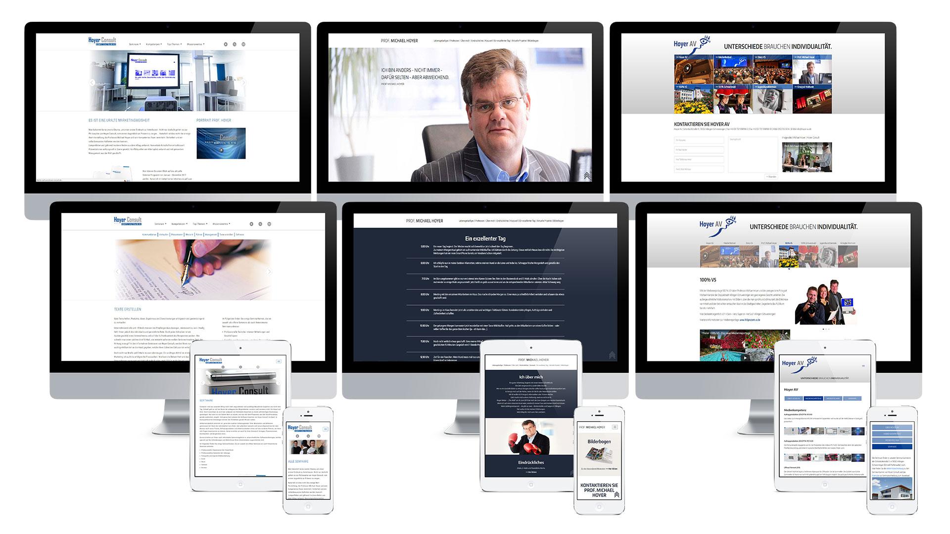 Prof. Michael Hoyer Web