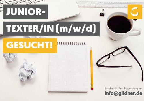 Junior-Texter/-in (m/w/d) mit Lust auf Weiterentwicklung gesucht