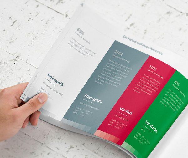 Corporate Design - Die Farben und deren Hierarchie