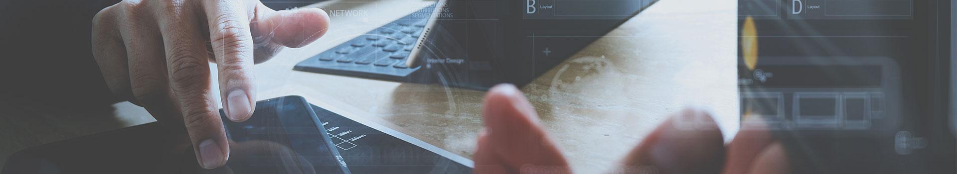 Web-Entwicklung, App, Screendesign, Funktionen