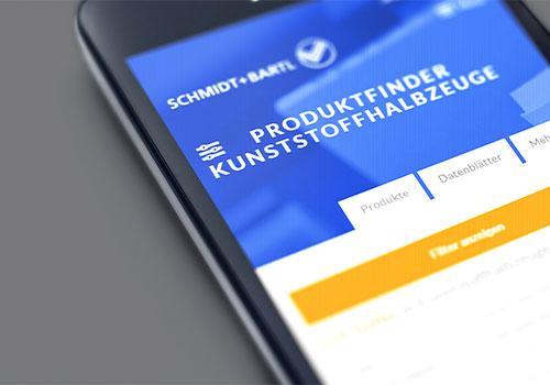 Digitale Vertriebsentlastung für Halbzeuge-Lieferant Schmidt + Bartl