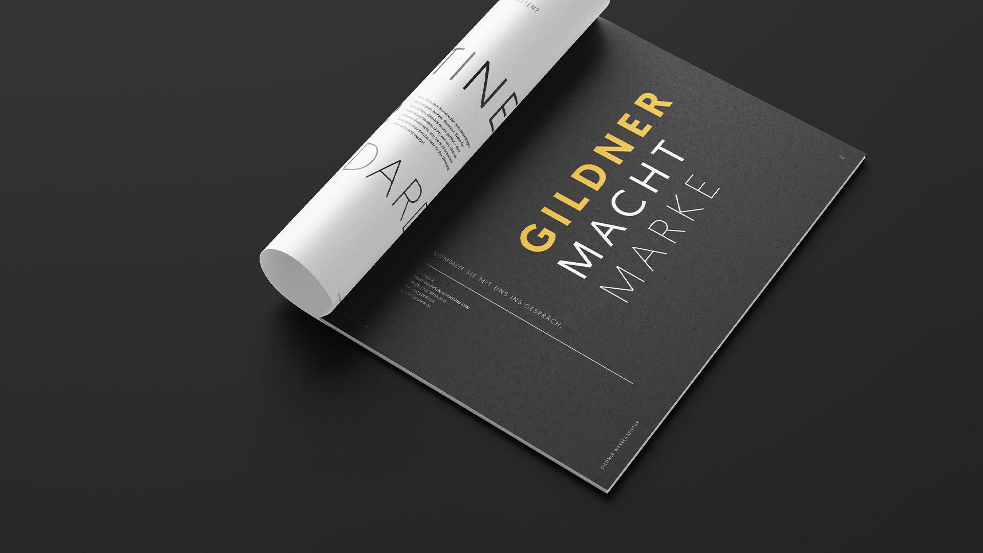 Gildner macht Marke