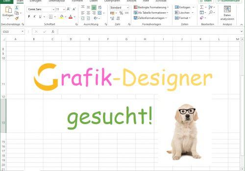 Du bist Grafik- oder Kommunikationsdesigner/-in? Dann suchen wir Dich!